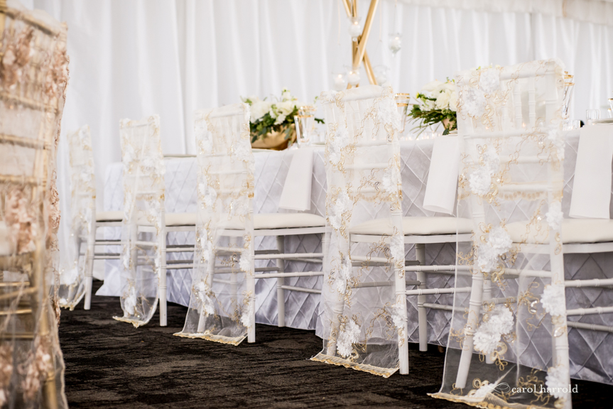 Wedding Showcase at The Golf Club at Newcastle 2019!  Desinged by Every Last Detail Weddings with Rented Elegance!  Swank was so excited to be a part of this amazing event once again!  Who doesn't love WHITE & GOLD?!